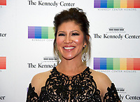 Julie Chen arrives for the formal Artist's Dinner honoring the recipients of the 40th Annual Kennedy Center Honors hosted by United States Secretary of State Rex Tillerson at the US Department of State in Washington, D.C. on Saturday, December 2, 2017. The 2017 honorees are: American dancer and choreographer Carmen de Lavallade; Cuban American singer-songwriter and actress Gloria Estefan; American hip hop artist and entertainment icon LL COOL J; American television writer and producer Norman Lear; and American musician and record producer Lionel Richie. Photo Credit: Ron Sachs/CNP/AdMedia