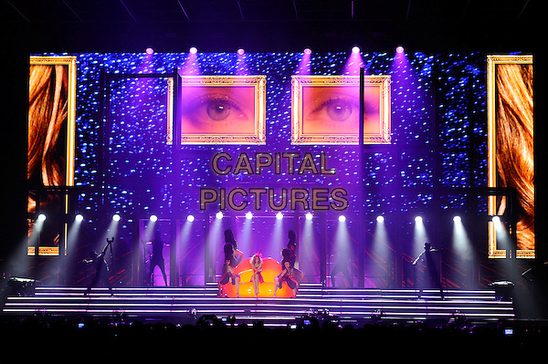 LONDON, ENGLAND - SEPTEMBER 29: Kylie Minogue performing at the o2 Arena on September 29, 2014 in London, England.<br /> CAP/MAR<br /> &copy; Martin Harris/Capital Pictures