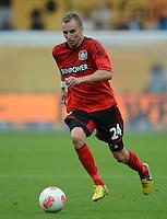 FUSSBALL   1. BUNDESLIGA  SAISON 2012/2013   4. Spieltag Bayer 04 Leverkusen - Borussia Moenchengladbach      23.09.2012 Michal Kadlec (Bayer 04 Leverkusen)