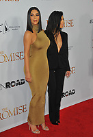 www.acepixs.com<br /> <br /> April 12 2017, LA<br /> <br /> Kim Kardashian West (L) and Kourtney Kardashian arriving at the premiere of 'The Promise' on April 12, 2017 in Hollywood, California<br /> <br /> By Line: Peter West/ACE Pictures<br /> <br /> <br /> ACE Pictures Inc<br /> Tel: 6467670430<br /> Email: info@acepixs.com<br /> www.acepixs.com