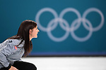 23/02/2018 - Womens curling - Semi finals - Gangnuang curling centre - Pyeongchang 2018 - Korea