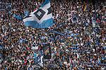 12.05.2018, Volksparkstadion, Hamburg, GER, 1.FBL. Hamburger SV vs Borussia Moenchengladbach,  im Bild   <br /> <br /> <br /> HSV Fan Kurve<br /> <br /> Foto &copy; nordphoto / Kokenge