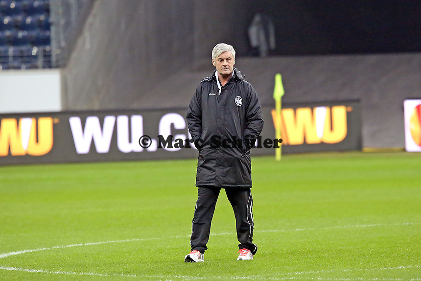 Trainer Armin Veh (Eintracht) - Eintracht Frankfurt Europa League Abschlusstraining