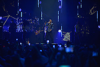 MIAMI, FL - NOVEMBER 05: Yandel performs on stage at iHeartRadio Fiesta Latina at American Airlines Arena on November 5, 2016 in Miami, Florida. Credit: MPI10 / MediaPunch
