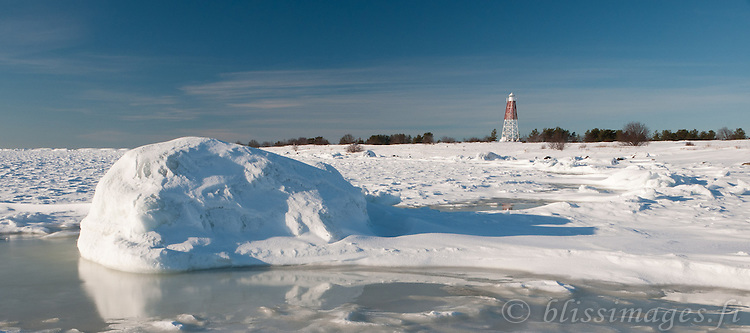 Kaijakari Lighthouse is located on the small island of Kaija about 3km off Reposaari in the Gulf of Bothnia, Finland.