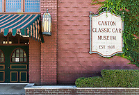 Canton Classic Car Museum, Ohio, USA.
