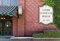 Canton Classic Car Museum, Ohio, USA.