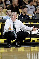 January 5, 2011: Marshall head coach Tom Herrion reacts to a play  during first half Conference USA NCAA basketball game action between the Marshall Thundering Herd and the Central Florida Knights at the UCF Arena Orlando, Fl.