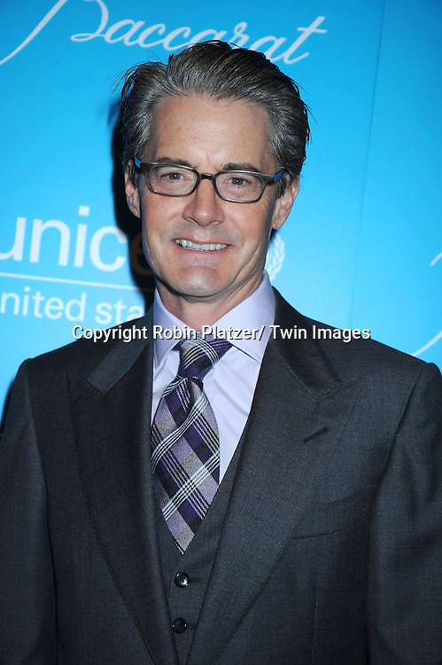 actor Kyle MacLachlan attending The 7th Annual Unicef Snowflake Ball on November 30, 2010 at Cipriani 42nd .Street.