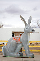 The Jackrabbit Trading Post has been in business on Route 66 since 1949 and is still open for business.