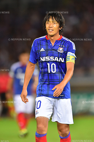 Shunsuke Nakamura (F Marinos),<br /> JULY 23, 2016 - Football / Soccer :<br /> 2016 J1 League 2nd stage match between Yokohama F Marinos 1-1 Jubilo Iwata at Nissan Stadium in Kanagawa, Japan. (Photo by AFLO)