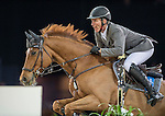 Ludger Beerbaum of Germany riding Casello competes during the Longines Grand Prix, part of the Longines Masters of Hong Kong on 12 February 2017 at the Asia World Expo in Hong Kong, China. Photo by Marcio Rodrigo Machado / Power Sport Images