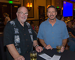 Mike Norman and Ken Kelley during the Reno Fashion Show at the Atlantis Casino Resort Spa on Saturday July 7, 2018.