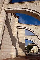Italien, Umbrien, Basilica di Santa Chiara in Assisi