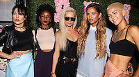 WEST HOLLYWOOD, CA, USA - MAY 13: Natasha Slayton, Simone Battle, Lauren Bennett, Emmalyn Estrada, Paula Van Oppen, GRL at the Pump Lounge Grand Opening Hosted By Lisa Vanderpump And Ken Todd held at Pump Lounge on May 13, 2014 in West Hollywood, California, United States. (Photo by Celebrity Monitor)