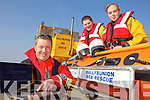 ONLINE: Members of the Ballybunion Sea Rescue team launching their new website last Friday, l-r: Emmet Lynch, Omar Fitzell and Grace Flahive.