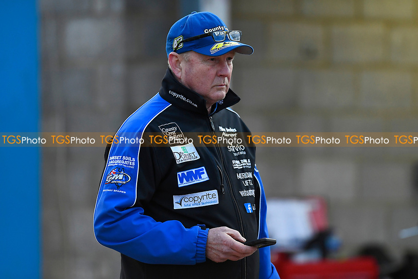 Poole Pirates Manger Neil Middleditch during Poole Pirates vs Belle Vue Aces, Elite League Speedway at The Stadium on 11th April 2018