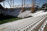SÃO PAULOP,SP,15.03.14 - TREINO CORINTHIANS - Vista da Arena Corinthians em Itaquera na zona leste de  São Paulo, SP, neste sabado  (15).(Foto Ale Vianna/Brazil Photo Press).