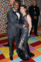WEST HOLLYWOOD, CA, USA - AUGUST 25: Joe Morton, Nora Chavooshian at HBO's 66th Annual Primetime Emmy Awards After Party held at the Pacific Design Center on August 25, 2014 in West Hollywood, California, United States. (Photo by Xavier Collin/Celebrity Monitor)