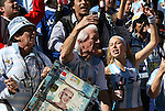 17 JUN 2010: Argentina fans. The Argentina National Team defeated the South Korea National Team 4-1 at Soccer City Stadium in Johannesburg, South Africa in a 2010 FIFA World Cup Group E match.