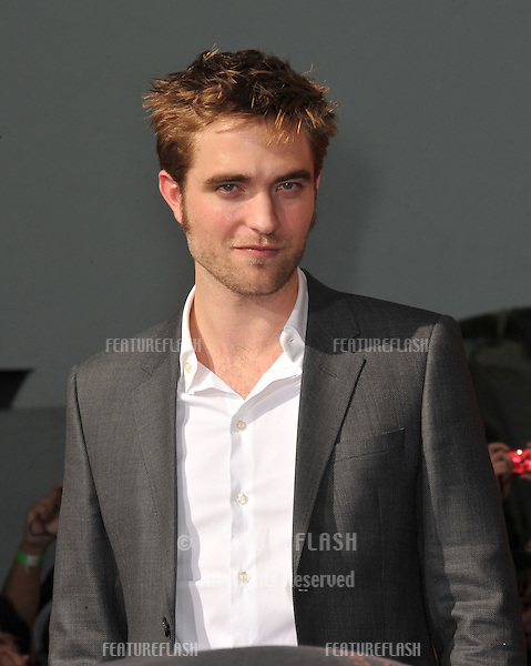 Robert Pattinson at hand & footprint ceremony honoring the Twilight Saga stars at Grauman's Chinese Theatre, Hollywood..November 3, 2011  Los Angeles, CA.Picture: Paul Smith / Featureflash