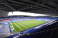 7th July 2020; Madejski Stadium, Reading, Berkshire, England; English Championship Football, Reading versus Huddersfield; An empty Madejski Stadium before kick off due to the pandemic