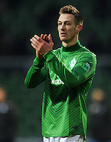 FUSSBALL   1. BUNDESLIGA   SAISON 2011/2012   21. SPIELTAG Werder Bremen - 1899 Hoffenheim                        11.02.2012 Francois Affolter (SV Werder Bremen).