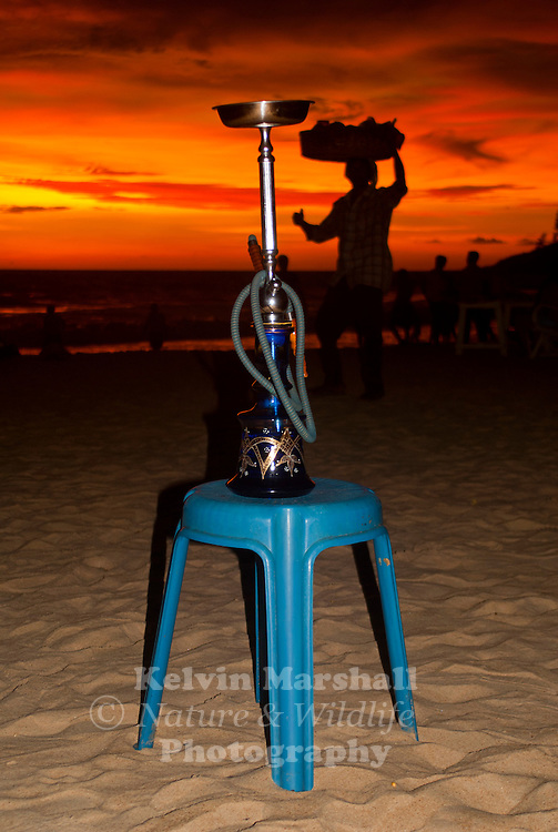 Smoking a hubbly bubbly is a trend that has picked up considerably in the last few years, especially among local Indians from Goa.