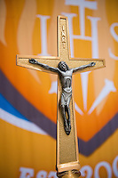 Cristo Rey Jesuit Cross of Constantine Commisioning