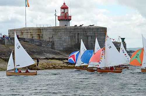 the Dublin Bay Water Wags currently number 50 registered boats in racing condition