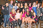 21st Birthday: Mairead Lynch, Ballybunion, centre front, celebrating her 21st birthday with family & friends at the Exchange Bar, Ballybunion on Saturday night last. Front: Marie O'Connell, Kate O'Malley, Mairead Lynch, Michelle O'Sullivan & Becky Farrell. Back : Stephan Gleeson, Edmond Broderick, Miriam Costello, Aishling O'Connor, Maria Keeshan, Anne O'Connor, Aisling O'Sullivan, Meghan Allen & Samantha Gleeson.