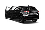 Car images close up view of a 2017 Mazda CX-5 Sport 5 Door SUV doors