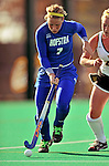 24 October 2008: Hofstra University Pride midfielder/defenseman Ashleigh Daniels, a Freshman from Reading, PA, in action against the University of Vermont Catamounts at Moulton Winder Field, in Burlington, Vermont. The Catamounts shut out the visiting Pride 3-0...Mandatory Photo Credit: Ed Wolfstein Photo