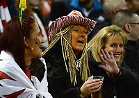 Wales fans in high sprits prior to kick off <br /> <br /> Photographer Ian Cook/CameraSport<br /> <br /> 2019 Autumn Internationals - Wales v Barbarians - Saturday 30th November 2019 - Principality Stadium - Cardifff<br /> <br /> World Copyright © 2019 CameraSport. All rights reserved. 43 Linden Ave. Countesthorpe. Leicester. England. LE8 5PG - Tel: +44 (0) 116 277 4147 - admin@camerasport.com - www.camerasport.com