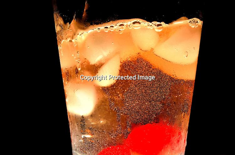 Efferent bubbles stock photo
