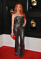LOS ANGELES, CA - FEBRUARY 10: Bonnie McKee at the 61st Annual Grammy Awards at the Staples Center in Los Angeles, California on February 10, 2019. Credit: Faye Sadou/MediaPunch