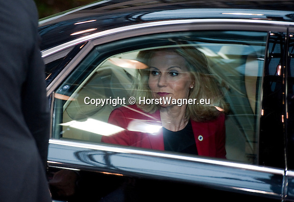 Brussels-Belgium - May 27, 2014 -- European Council, EU-summit, meeting of Heads of State / Government for an informal dinner to evaluate and to conclude the results of the European elections; here, arrival of Helle THORNING-SCHMIDT, Prime Minister of Denmark -- Photo: © HorstWagner.eu
