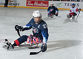 St. John's, NL - Dec 2 2019: Game 3 - USA vs Czech Republic at the 2019 Canadian Tire Para Hockey Cup at the Double Ice Complex in Paradise, Newfoundland, Canada. (Photo by Matthew Murnaghan/Hockey Canada)