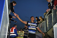 Anthony Watson of Bath Rugby leaves the field after the match. Aviva Premiership match, between Bath Rugby and Worcester Warriors on December 27, 2015 at the Recreation Ground in Bath, England. Photo by: Patrick Khachfe / Onside Images