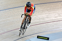 Finn Fisher-Black of Tasman competes in the U17 Boys 2000m IP at the Age Group Track National Championships, Avantidrome, Home of Cycling, Cambridge, New Zealand, Thurssday, March 16, 2017. Mandatory Credit: © Dianne Manson/CyclingNZ  **NO ARCHIVING**