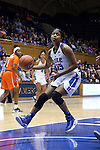 10 February 2017: Duke's Kyra Lambert. The Duke University Blue Devils hosted the Syracuse University Orange at Cameron Indoor Stadium in Durham, North Carolina in a 2016-17 Division I Women's Basketball game. Duke won the game 72-55.