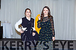 Ballymac ladies Veronica O'Donnell and Anne Savage who took to the catwalk in aid of Ballymac GAA in the Rose Hotel on Sunday.