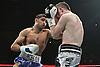 Amir Khan defeats Paul Mc Closkey via a 5th round technical decision at the Mannchester Evening News Arena. 16th April 2011