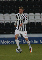 Jon Robertson in the St Mirren v Brechin City William Hill Scottish Cup Round 4 match played at St Mirren Park, Paisley on 1.12.12.