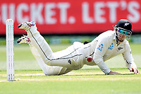 27th December 2019; Melbourne Cricket Ground, Melbourne, Victoria, Australia; International Test Cricket, Australia versus New Zealand, Test 2, Day 2; Tom Latham of New Zealand fields the ball - Editorial Use