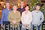 Pictured at the Beaufort Tidy Towns fundraising night held in Beaufort Bar on Thursday night were Padraig O'Sullivan, Eileen O'Neill, Prionsias MacCurtain, Rachel Cameron and Eanna O'Malley.