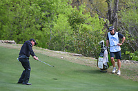 Phil Mickelson (USA) hits his approach shot on 2 during day 2 of the WGC Dell Match Play, at the Austin Country Club, Austin, Texas, USA. 3/28/2019.<br /> Picture: Golffile | Ken Murray<br /> <br /> <br /> All photo usage must carry mandatory copyright credit (© Golffile | Ken Murray)