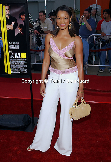 """Garcelle Beauvais arriving at the Premiere of """" The Italian Job """" at the Chinese Theatre in Los Angeles. May 27, 2003."""