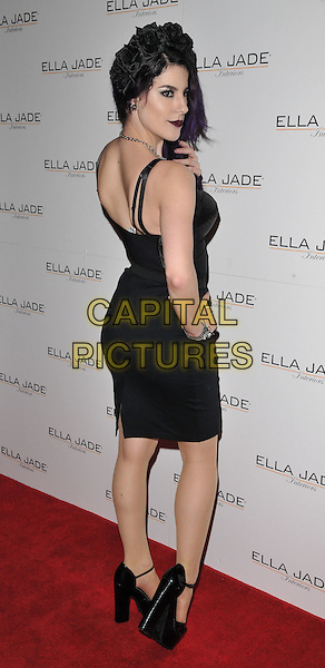 Jasz Vegas attends the Ella Jade's Chair Your Wish press launch, Whiteleys Shopping Centre, Queensway, London, UK, on Tuesday 15 December 2015.<br /> CAP/CAN<br /> &copy;Can Nguyen/Capital Pictures