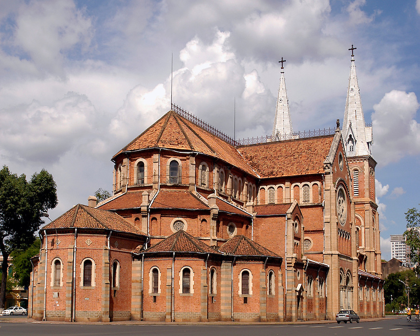 Notre Dame Cathedral Saigon, Ho Chi Minh City Vietnam